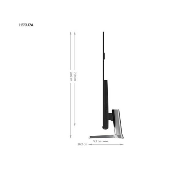 Hisense-H55U7A-lateral